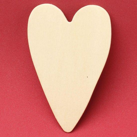 Unfinished Wood Folk Heart Cutout Wooden Hearts Crafts Unfinished Wood Crafts Wooden Hearts