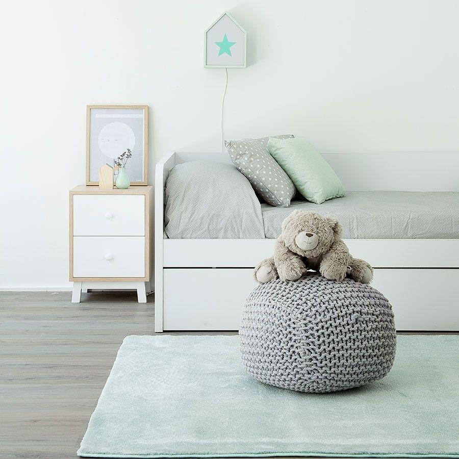 mesita-noche-mueble-kenayhome | Home... | Pinterest | Noche, Mesas y ...