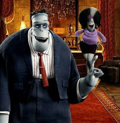 Hotel Transylvania Frankenstein  Eunice Husband  Wife  Mavis