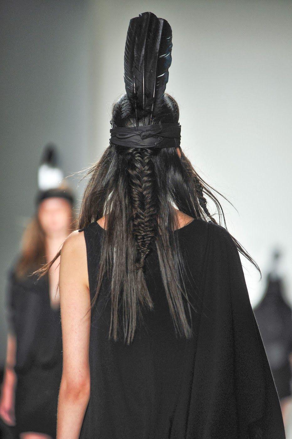 Native American inspired braid. | Native american hair ...