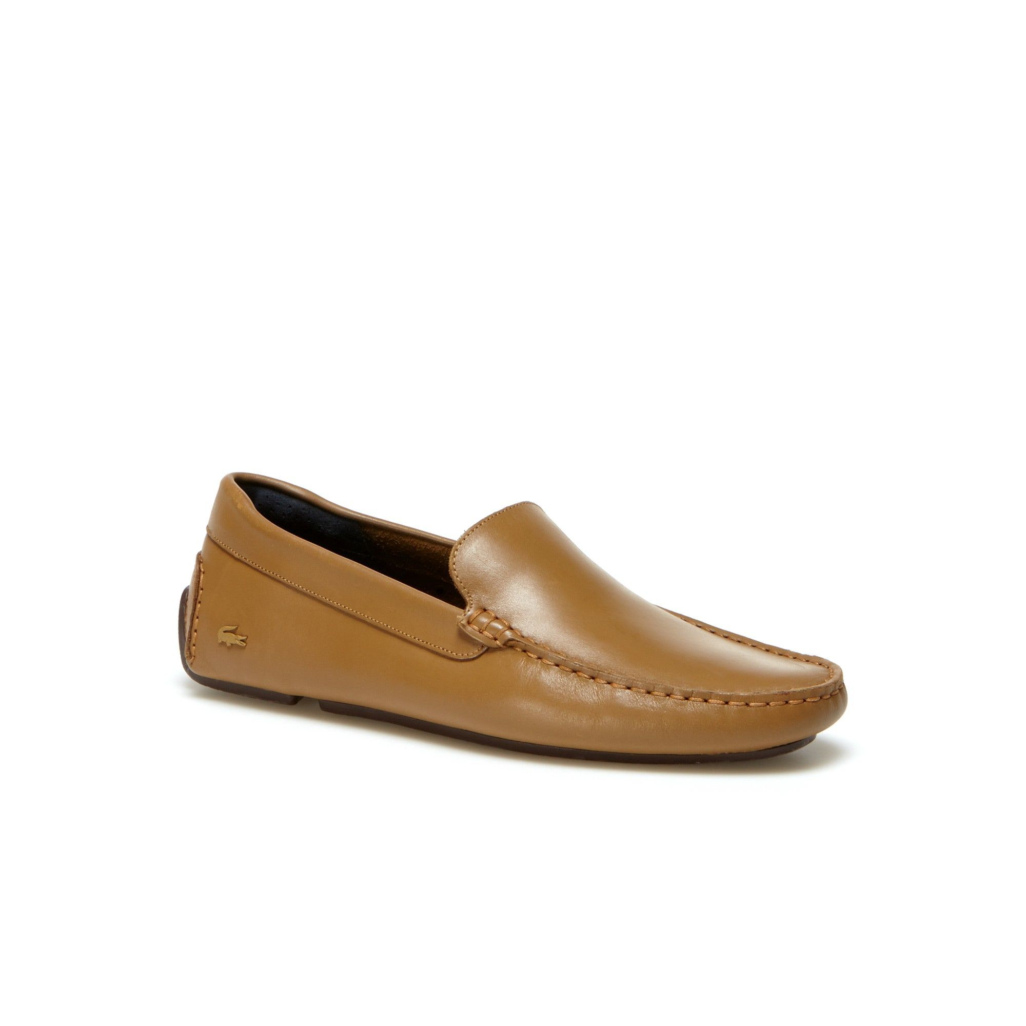 c4568b6f04b LACOSTE Men s Piloter Leather Moccasins - tan.  lacoste  shoes ...