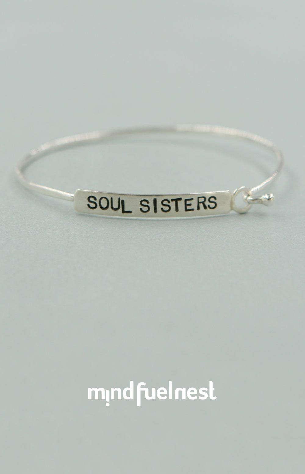 Celebrate The One Who Knows You Best With This Inspirational Bracelet Handmade From Sterling Silver In Usa Each Features A Hand Stamped Bar