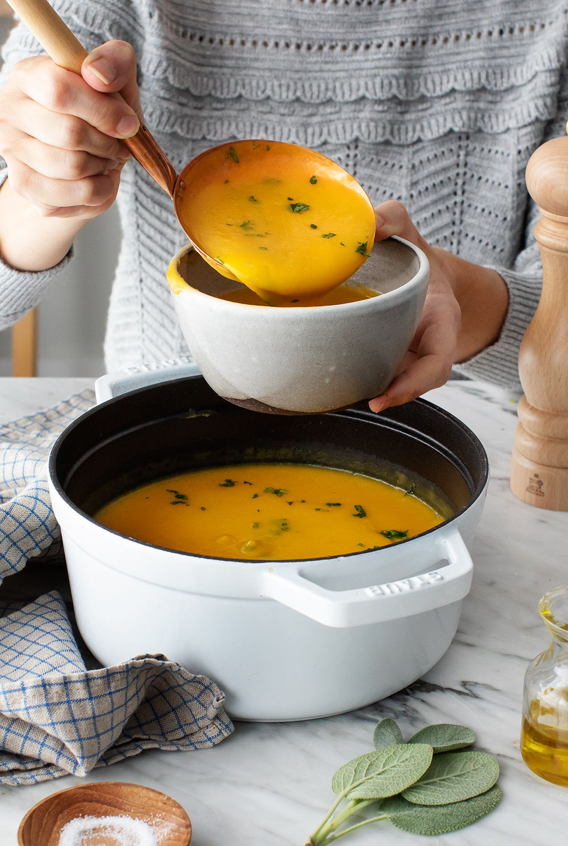 Butternut Squash Soup Recipe - Love and Lemons