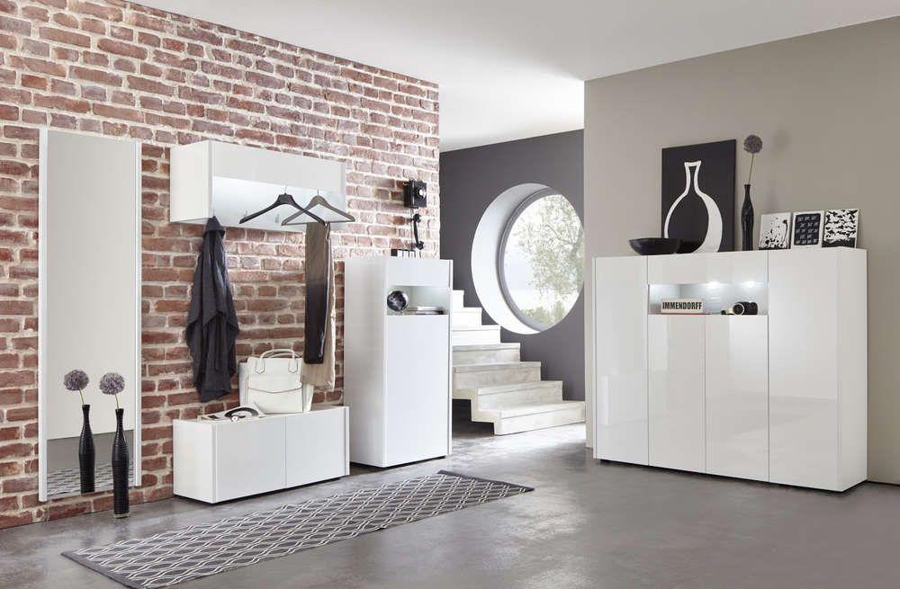 Credenza Moderna Corridoio : Entrata moderna ines 2 mobili per corridoio o ingresso finitura