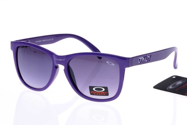794edbc66f Oakley Frogskins Sunglasses Purple Frame Lightgrey Lens is your best  choice