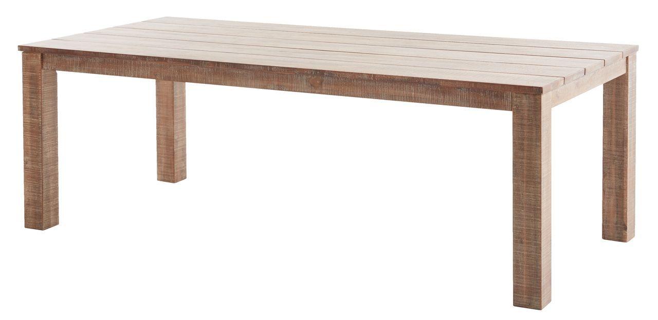Asztal BERGEN SZ100xH220cm keményfa JYSK Asztal, Bergen