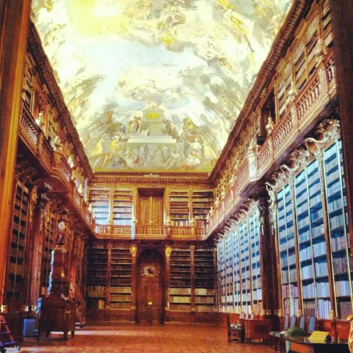 Klementinum Library @Prague