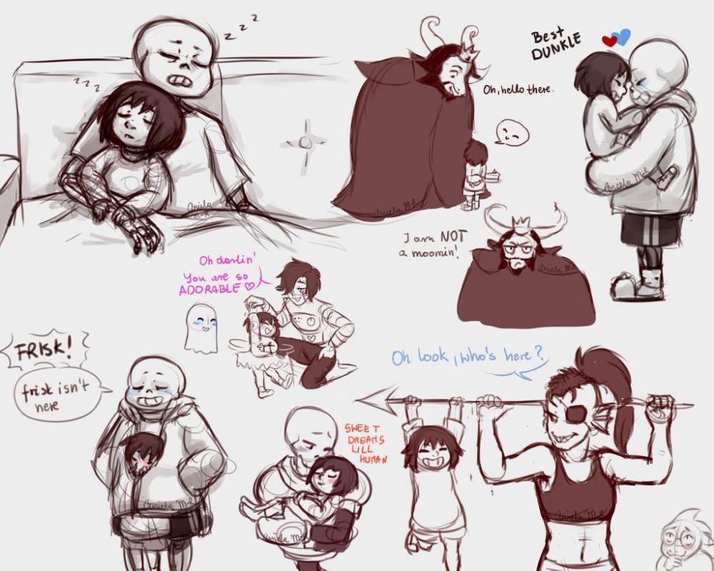 Undertale: Doodles By Magic-Ray On DeviantArt