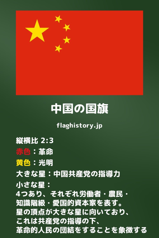 国旗 意味 中国