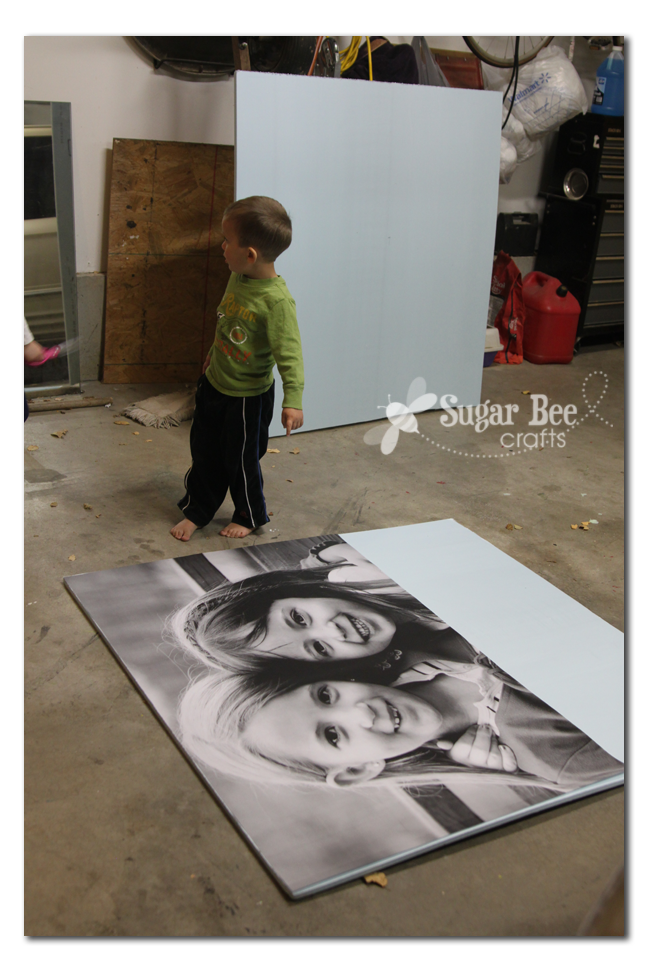 Giant picture tutorial engineer prints board and printing really cheap way to get a huge print for your walls ask for engineer print at office max or office depot and attach to foam board malvernweather Gallery