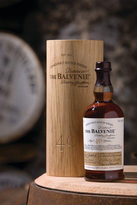 The Belvenie 40 year old Single Malt Scotch Whisky @Pierre-Olivier Letarte prochain cadeau à papa?