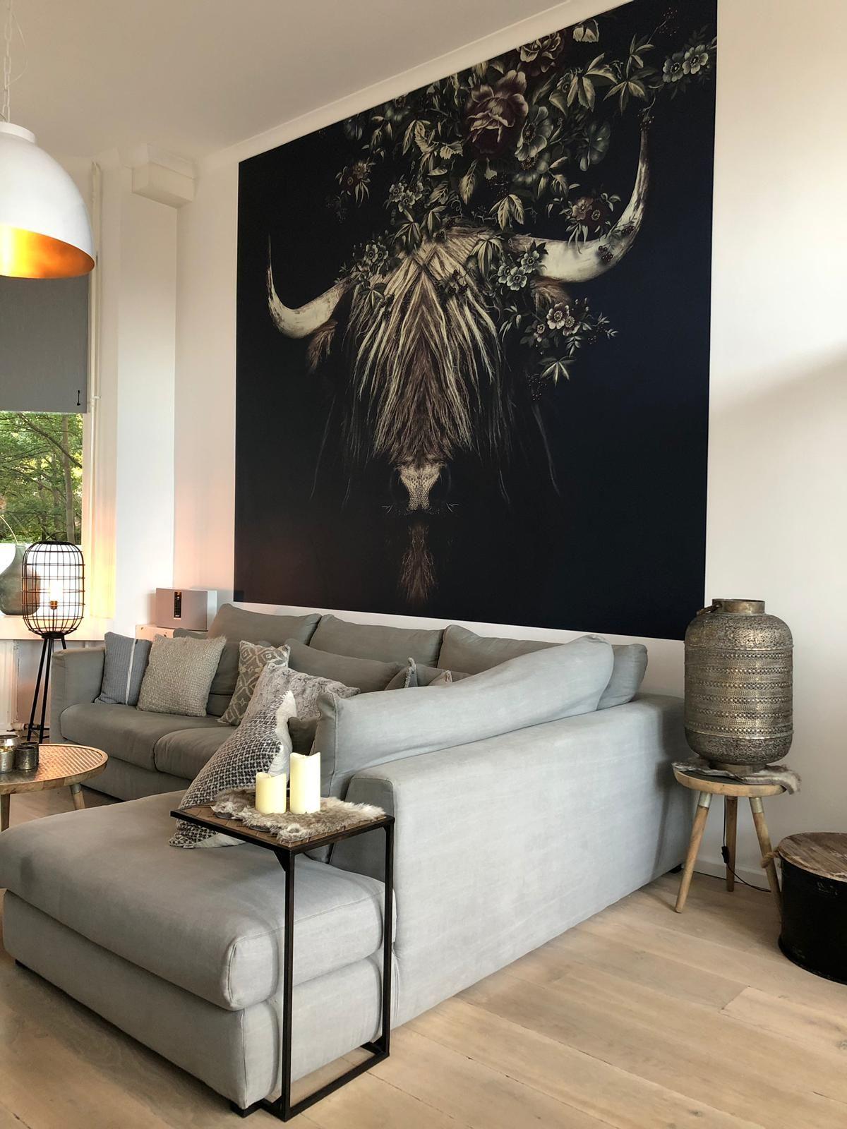 Benieuwd Naar Stijlvolle Wanddecoraties Klik Op De Bron Voor Een Artikel Vol Met Wanddecoratie Ideeen Home Decor Modern Shelving Design Minimalist Home Decor