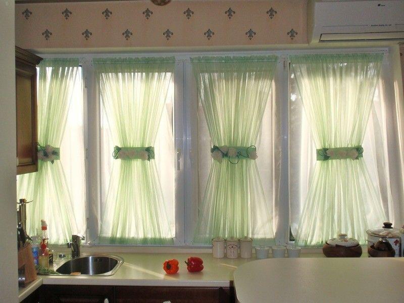 Konyhai függönyök, teljes függönyözés felméréssel és felrakással ...