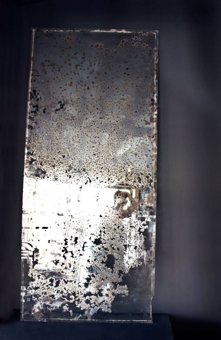 Heavily Foxed Very Large Mirror Www Dig Haushizzle Co Uk Glass Mirror Tiles Distressed Mirror Mirror Ceiling