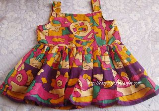 c788c4cfb964 Easy Crafts - Explore your creativity  Baby Frock