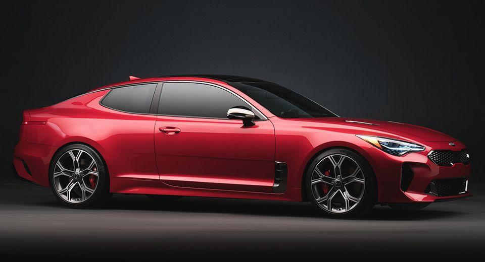 Would The Kia Stinger Work As A Coupe Too Carscoops Kia Stinger Kia Sedan