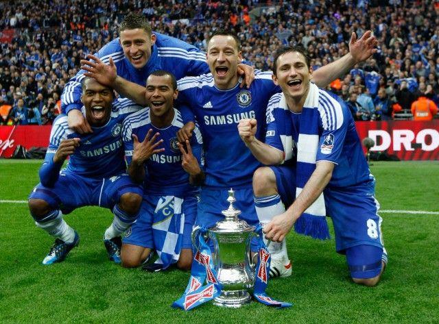 Chelsea's English Contingent Celebrate: Striker Daniel