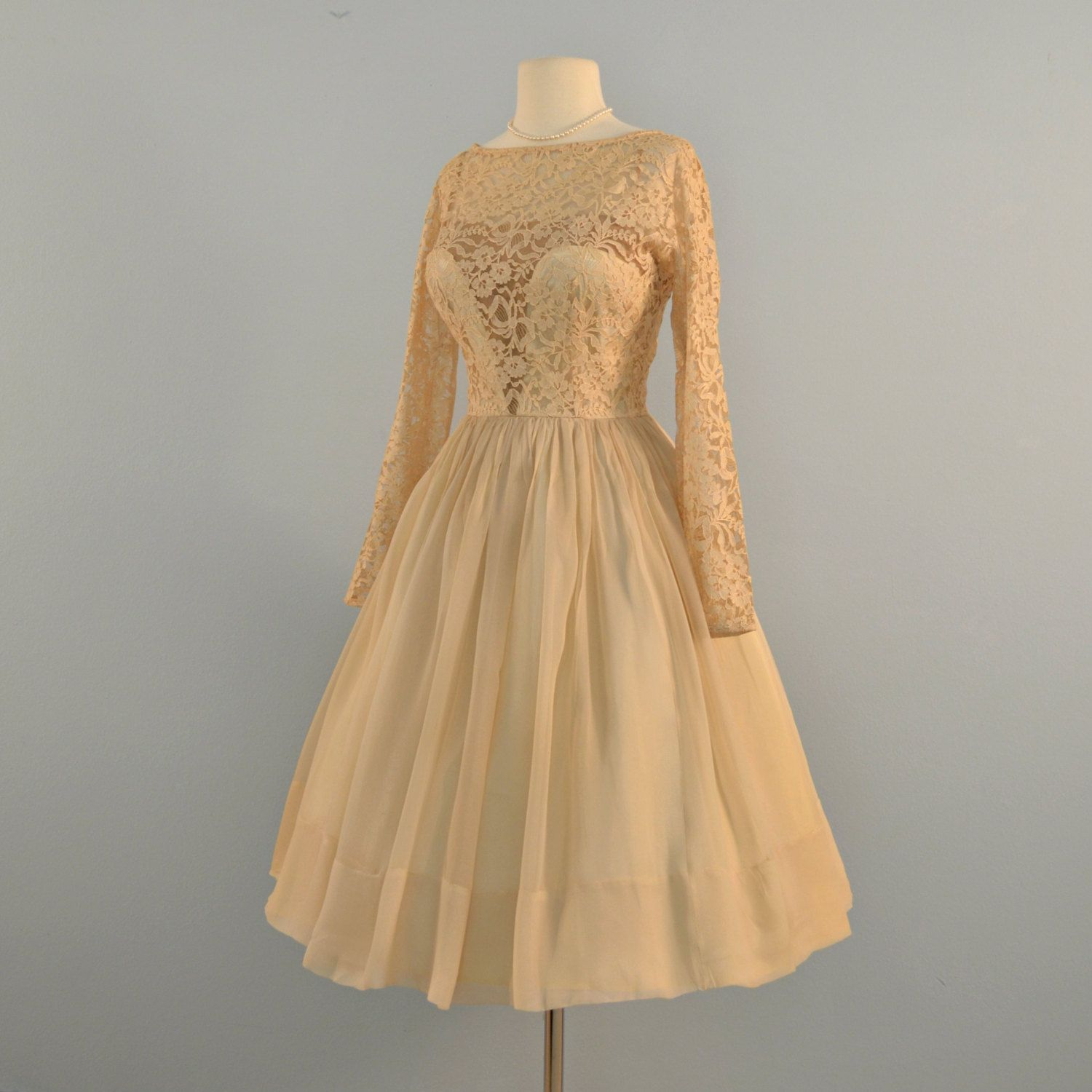 Saks Fifth Avenue Wedding Gowns: Vintage 1950s Wedding Dress...Simply Gorgeous SAKS FIFTH