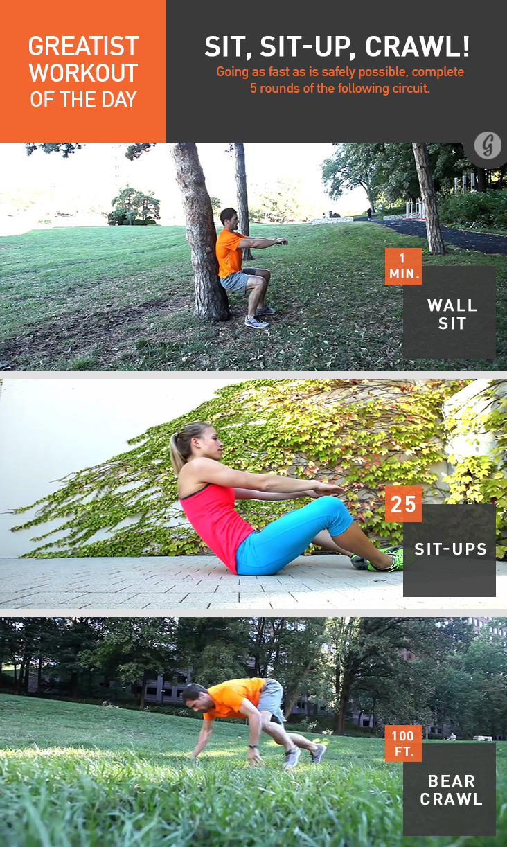 pictures Greatist Workout of the Day: Tuesday, December 1st