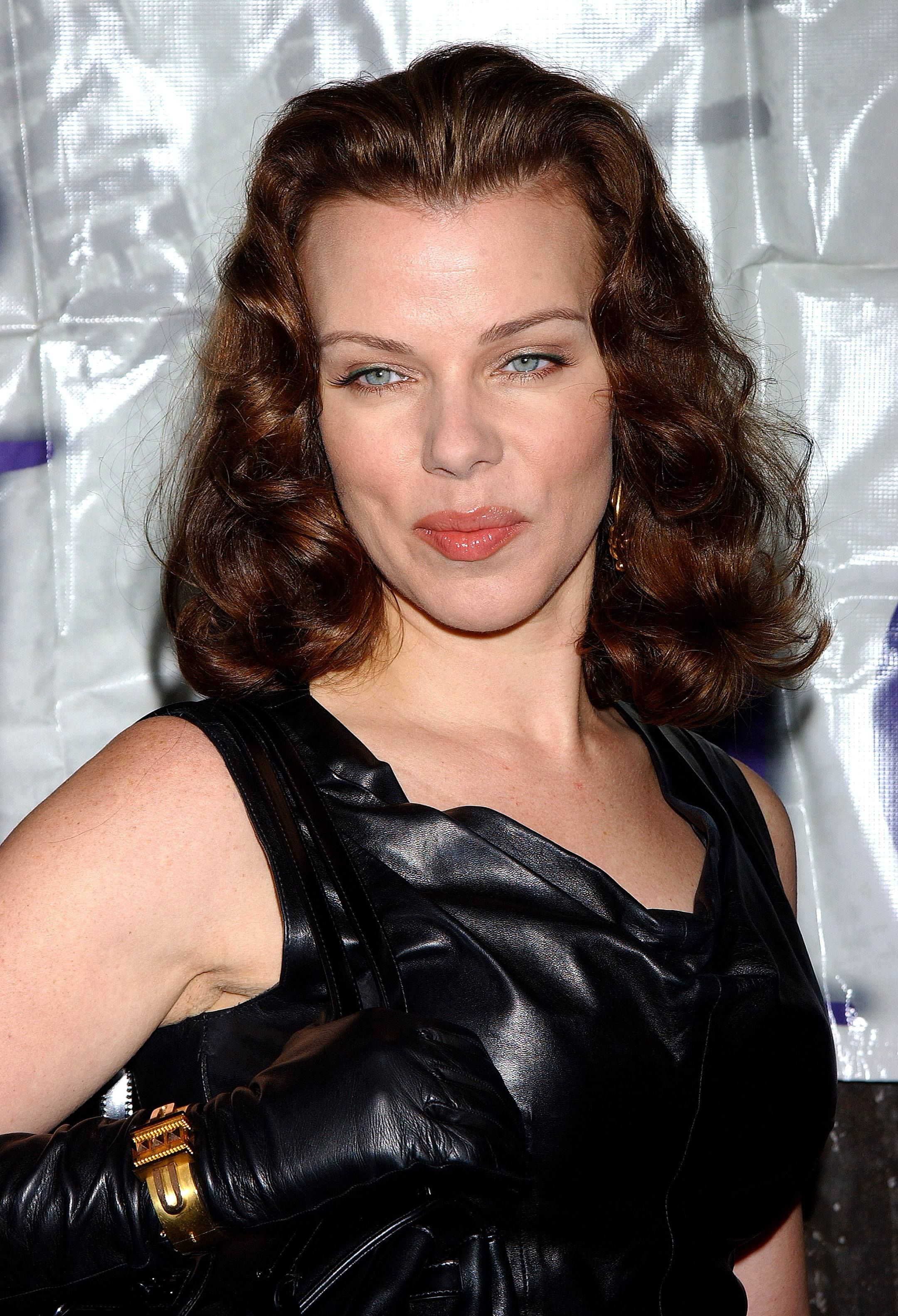 Image detail for -Debi Mazar in all-leather outfit ...