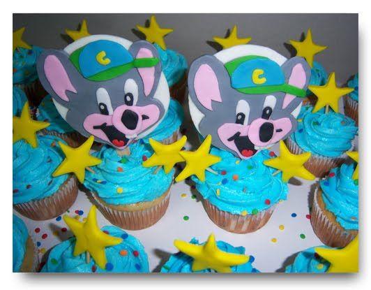 N2GSUS Chuck E Cheese Cupcakes Cupcakes Pinterest Cheese