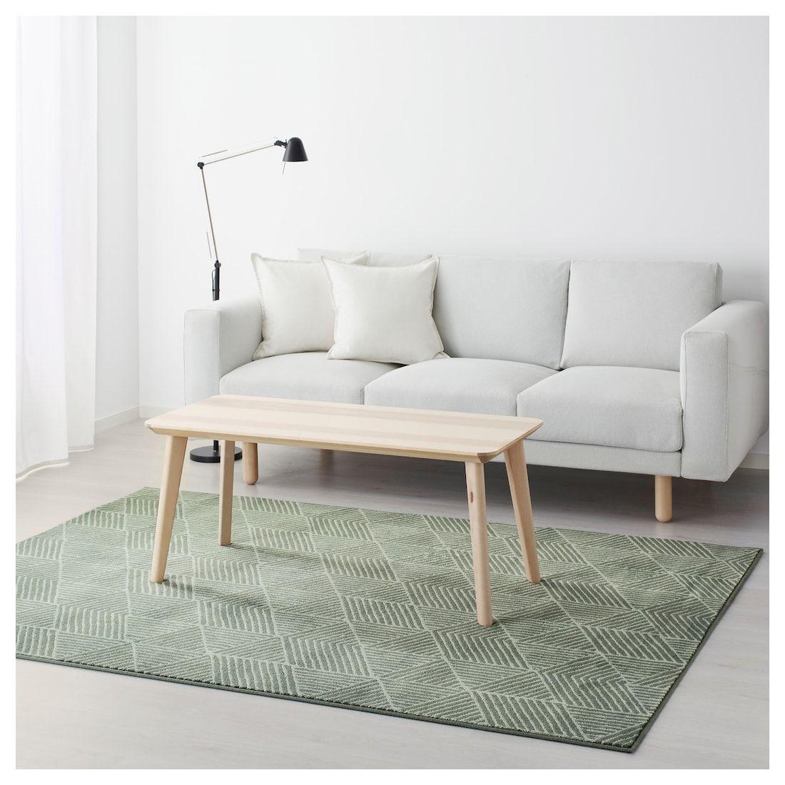 STENLILLE Teppich Kurzflor grün IKEA Deutschland