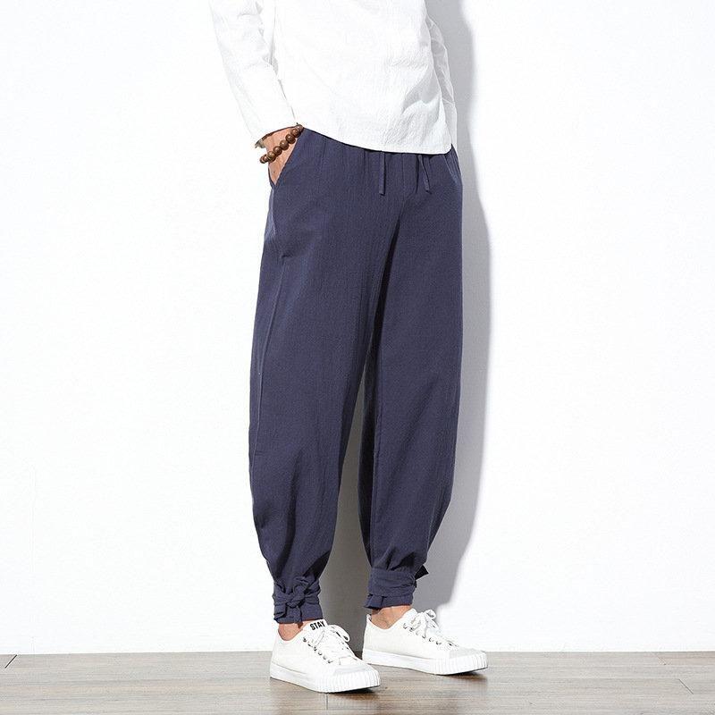 8c99af774a 100%Cotton Wide Leg Pants in 2019 | Schöne Hosen | Mens jogger pants ...