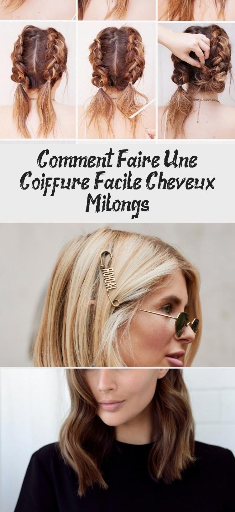 16+ Exemple de coiffure facile inspiration