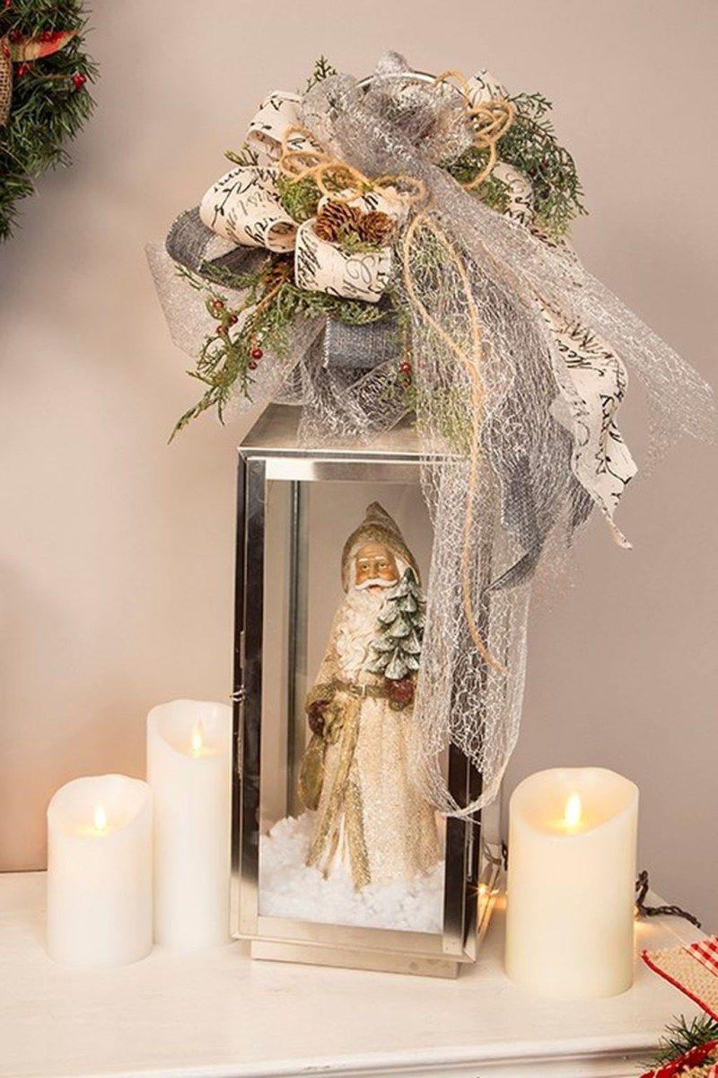Incroyable Adorable Vintage Christmas Lantern Decoration Ideas 12