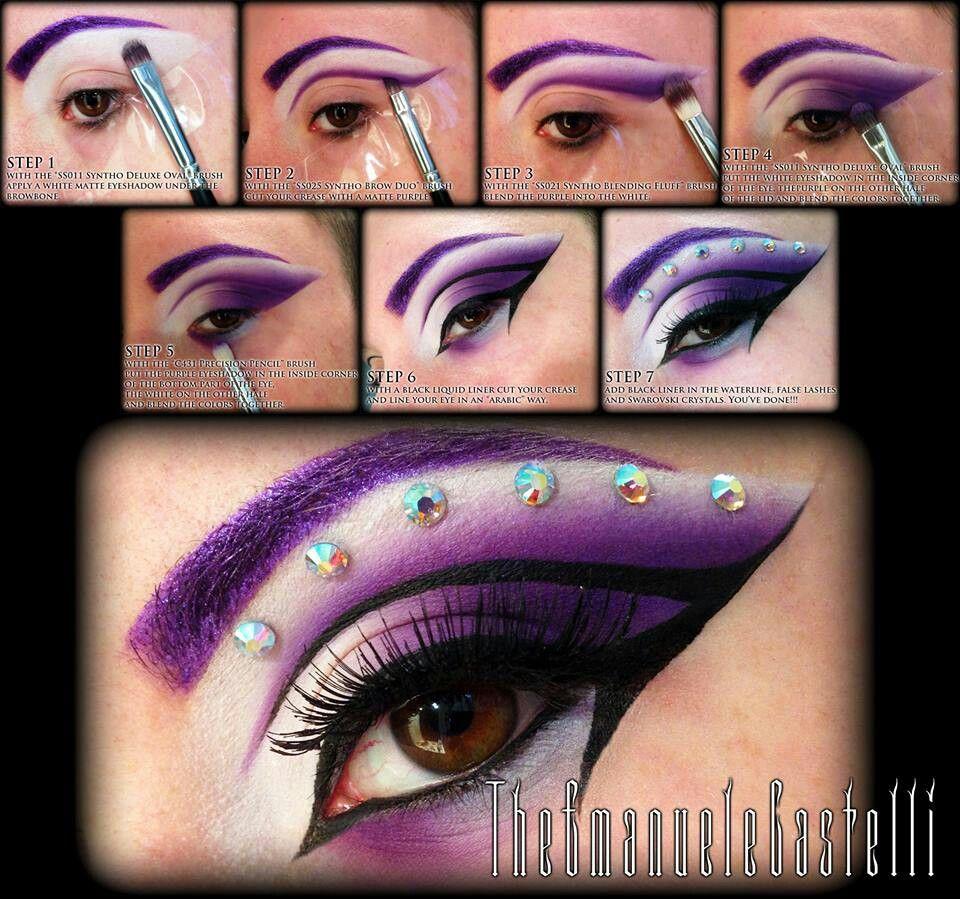 Emanuele Castelli MakeUp tutorial :)