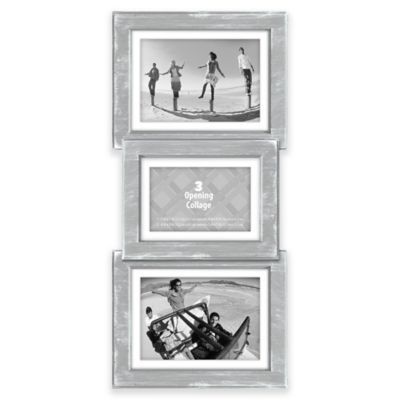 Malden 3 Opening Collage Picture Frame In Grey Collage Picture