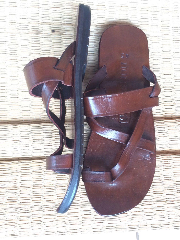 c18fff571d77dd Handmade Men s Leather Sandals. NomadbyDesigns on etsy.