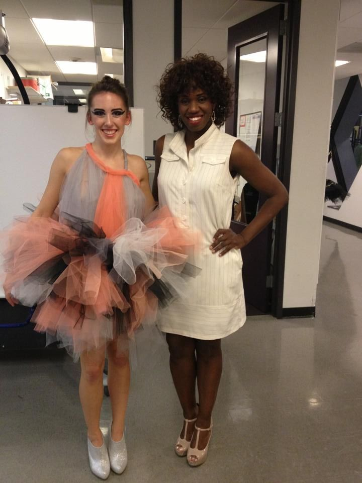 Fashion Design Student Emily Oluoch Excels At Moore The Junior Fashion Design Major Has A 3 9 Grade Point Average Fashion Design Design Student Junior Fashion