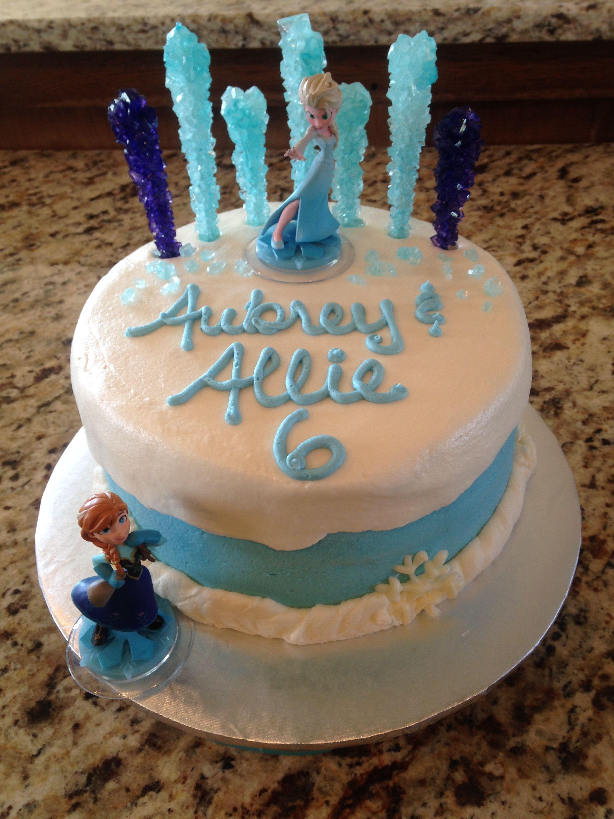 Frozen Birthday Cake Cakes Pinterest Frozen Birthday Birthday