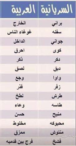 مدونة ابن خانكان اللغة السريانية عبر التاريخ والديانات Syriac Language Throughout History Religions Syriac Language Language Quotes Beautiful Arabic Words