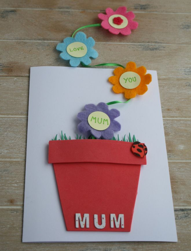 Paper Craft Card Making Ideas Part - 49: 4 Easy Motheru0027s Day Card Ideas