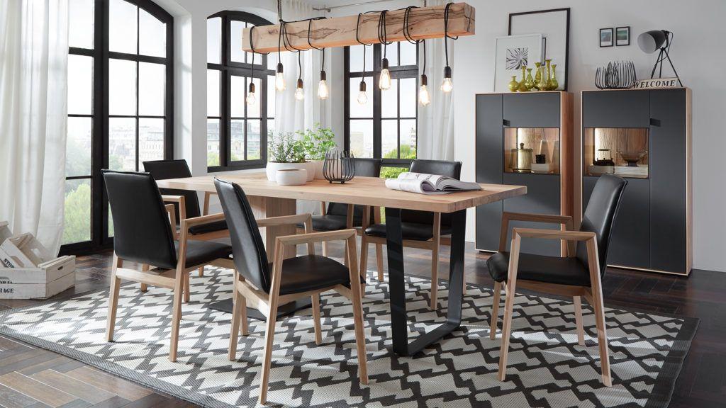 Flatplate Esstisch Eiche Wohnung Pinterest - küche live kevelaer