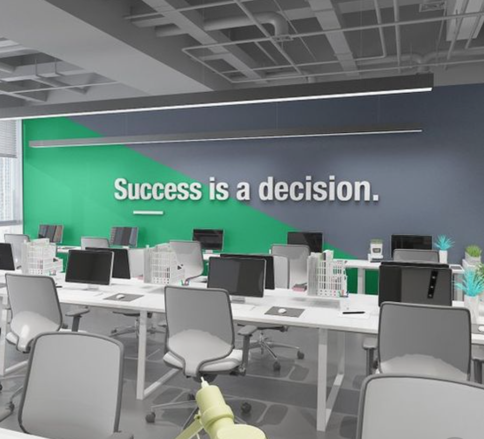Motivational Spaces Words Inspiration Office Alfatech