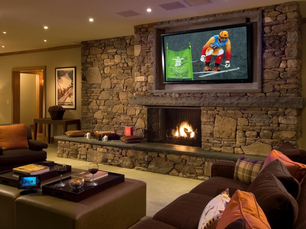 21 Amazing And Unbelievable Recreational Room Ideas Home Theater