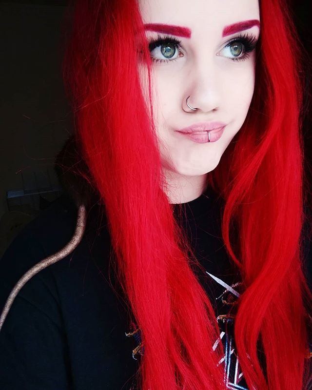 Manic Panic Rock N Roll Red Bright Red Hair Bright Hair Red Hair Color