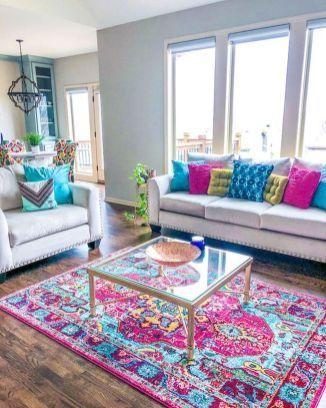 Photo of Über 80 atemberaubende farbenfrohe Wohnzimmer-Dekorationsideen und Umgestaltungen für das Sommerprojekt – Wohnaccessoires Blog