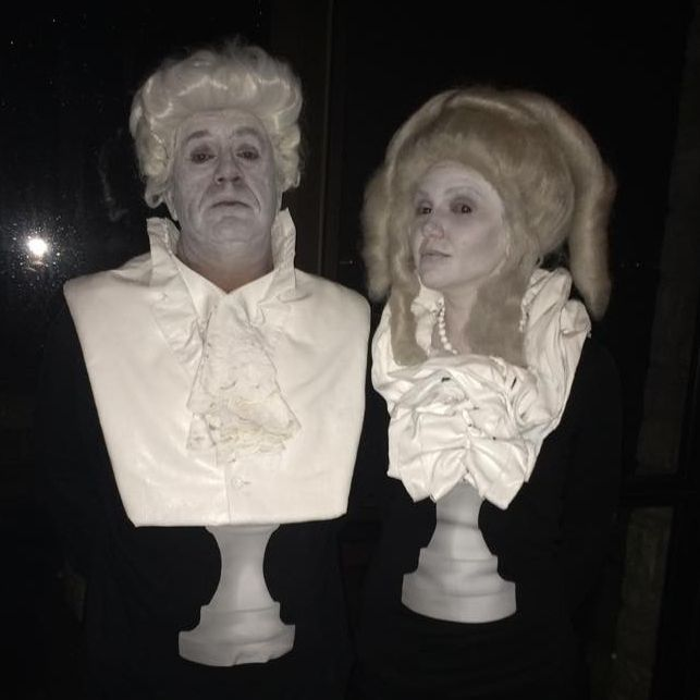 bust halloween costume & Composer Bust Statue Costumes | Halloween costumes Costumes and ...