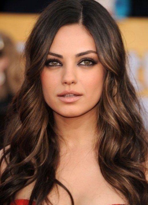 Best Highlights Ideas For Dark Brown Hair Natural Hair Care