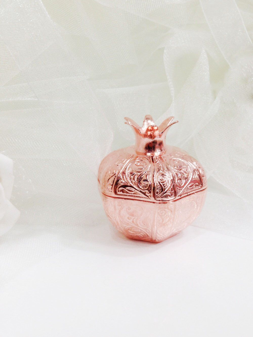 Unique Wedding Favor Boxes, Rose Gold Wedding Favours, Elegant ...