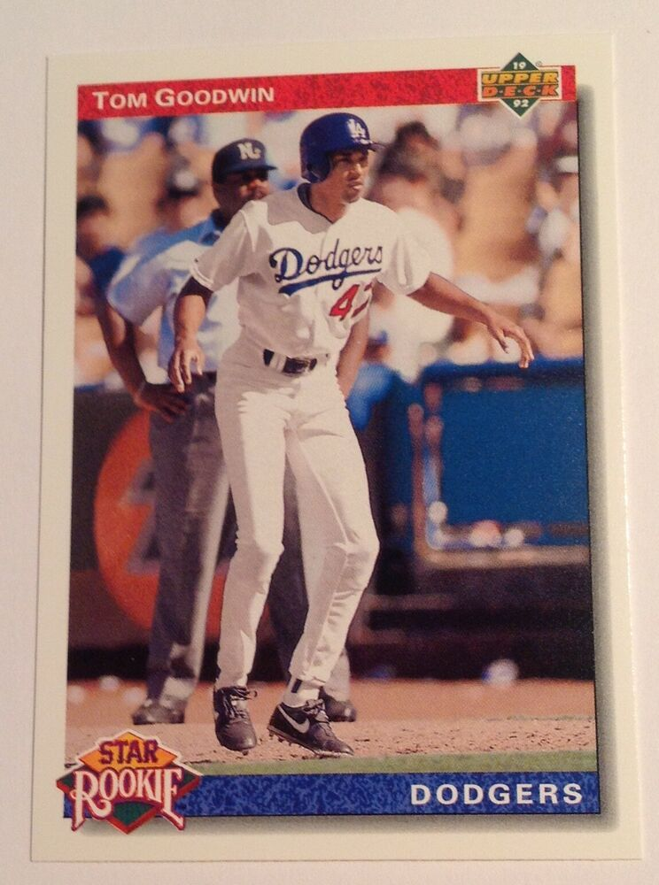 1992 upper deck tom goodwin star rookie dodgers 20
