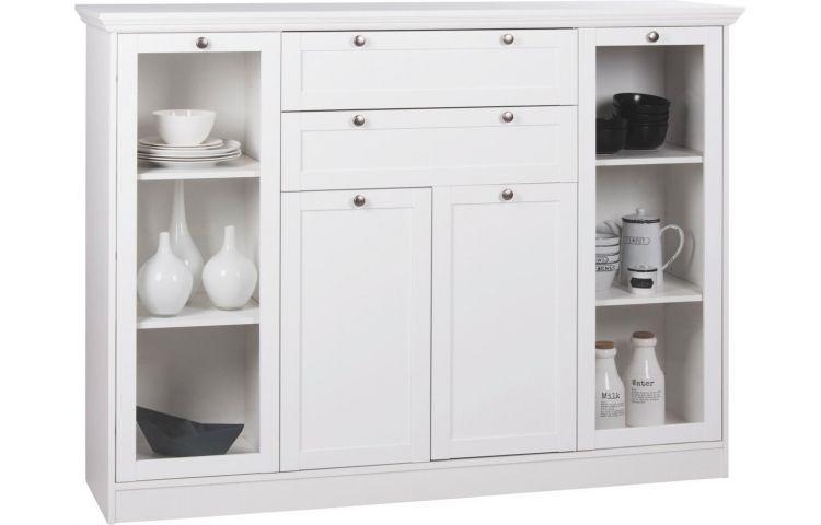 highboard landwood wei 160 x 120 m bel highboard kommode und m bel. Black Bedroom Furniture Sets. Home Design Ideas