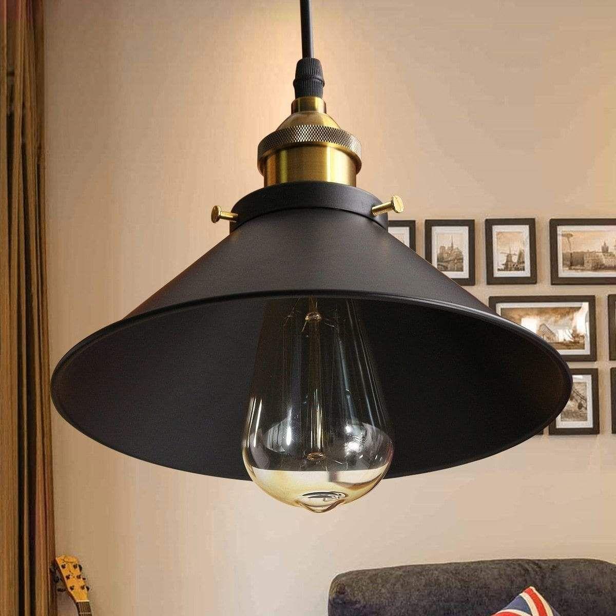 American Edison Retro Ceiling Lamp Pendant Light Fixtures Modern Ceiling Lamps Rustic Pendant Lighting
