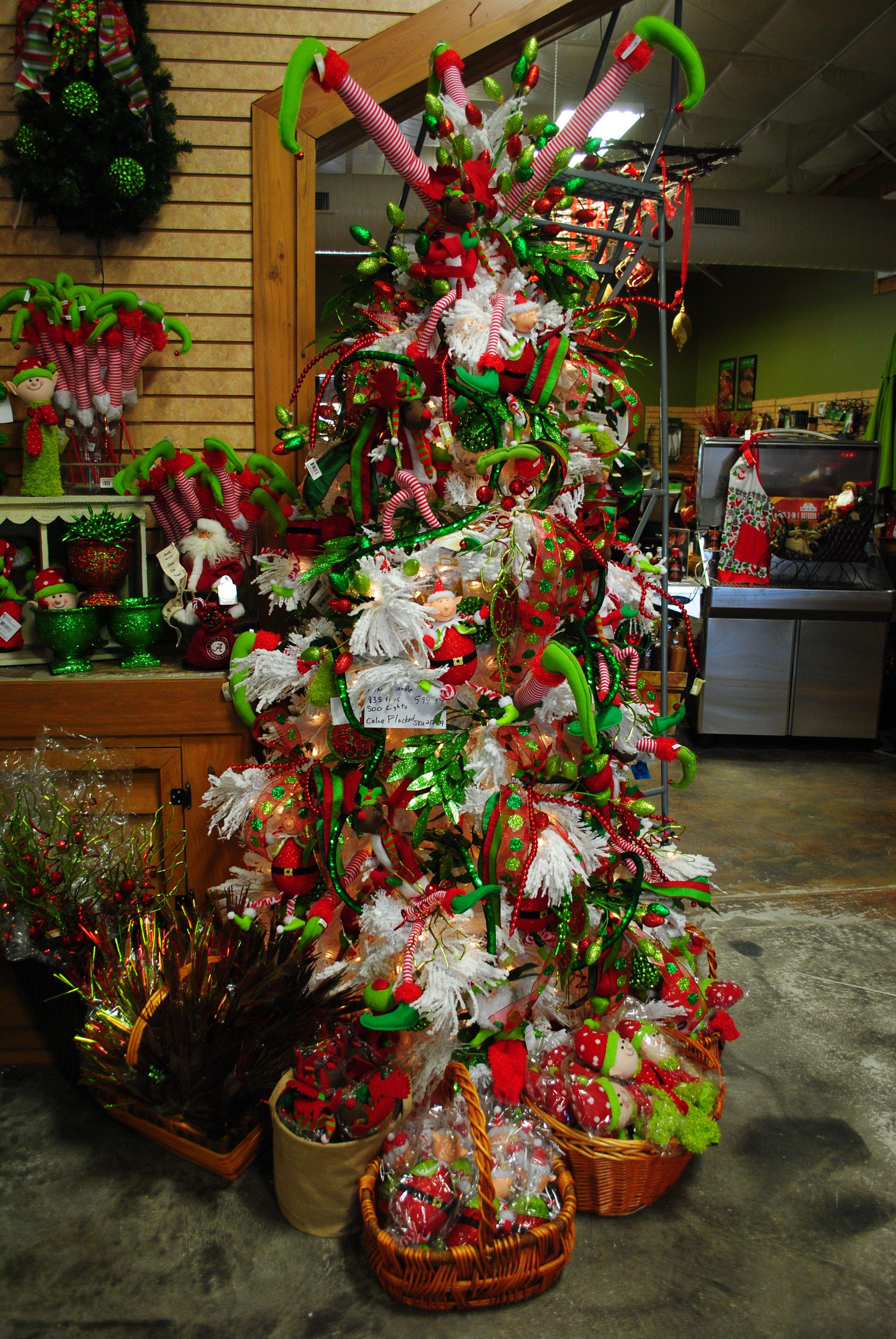 Elf Christmas tree decorations Elf christmas decorations