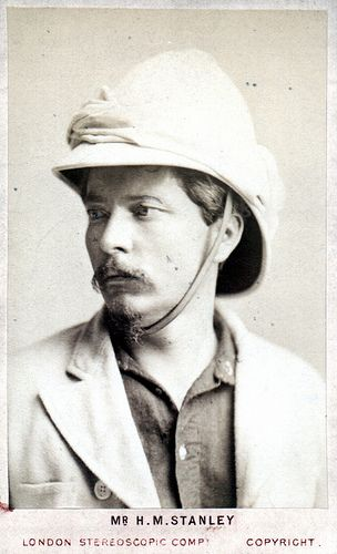 Portrait of Henry Morton Stanley (1841-1904), Explorer David - doctor livingstone i presume