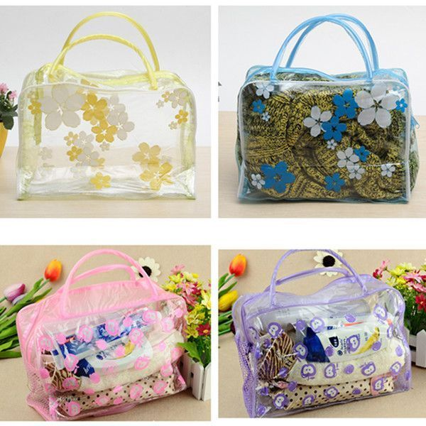 da1b4ab84f28 Floral waterproof transparent cosmetic makeup wash bag toiletry pouch  cosmetic bag hello kitty  cosmetic  bag  hs  code  cosmetic  bags  chanel   cosmetic ...